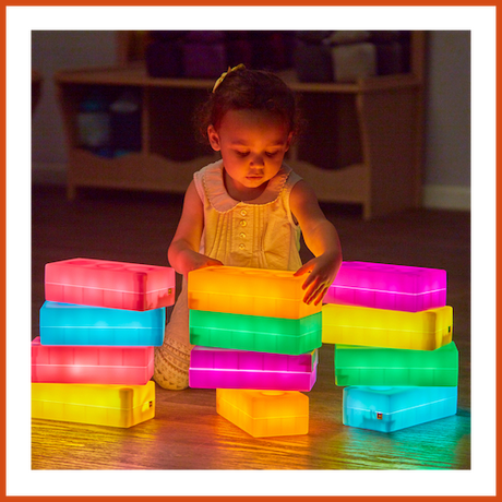 Светещи тухли (Light-Up Construction Bricks 12pk)